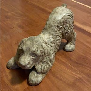 BNWT Ceramic dog statue